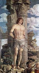 Andrea Mantegna: Saint Sébastien