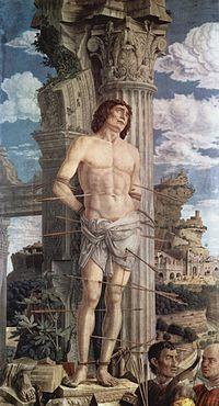 Martyre de saint Sébastien (huile/toile, Louvre, Paris)