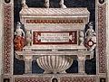 Andrea del castagno, Monumento equestre di Niccolò da Tolentino, 1456, 03.JPG