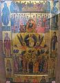Andreas ritzos, icona con ascensione di cristo ed etimasia, Xv sec.JPG