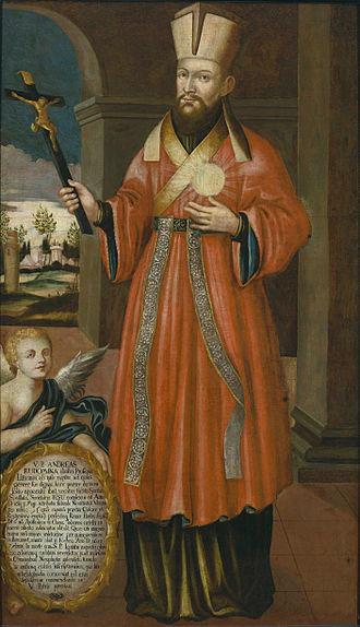 Andrius Rudamina - Rudamina in a painting from 1700–1750