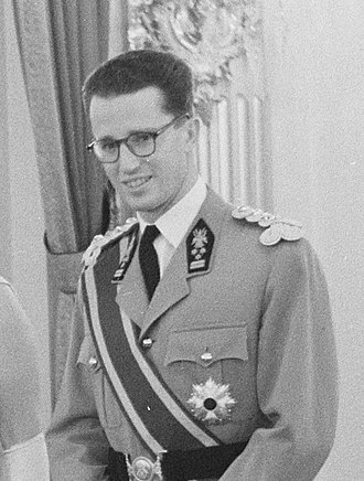 Baudouin of Belgium - Baudouin in 1960