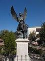 Angel statue by Sándor Györfi, 2018 Karcag.jpg