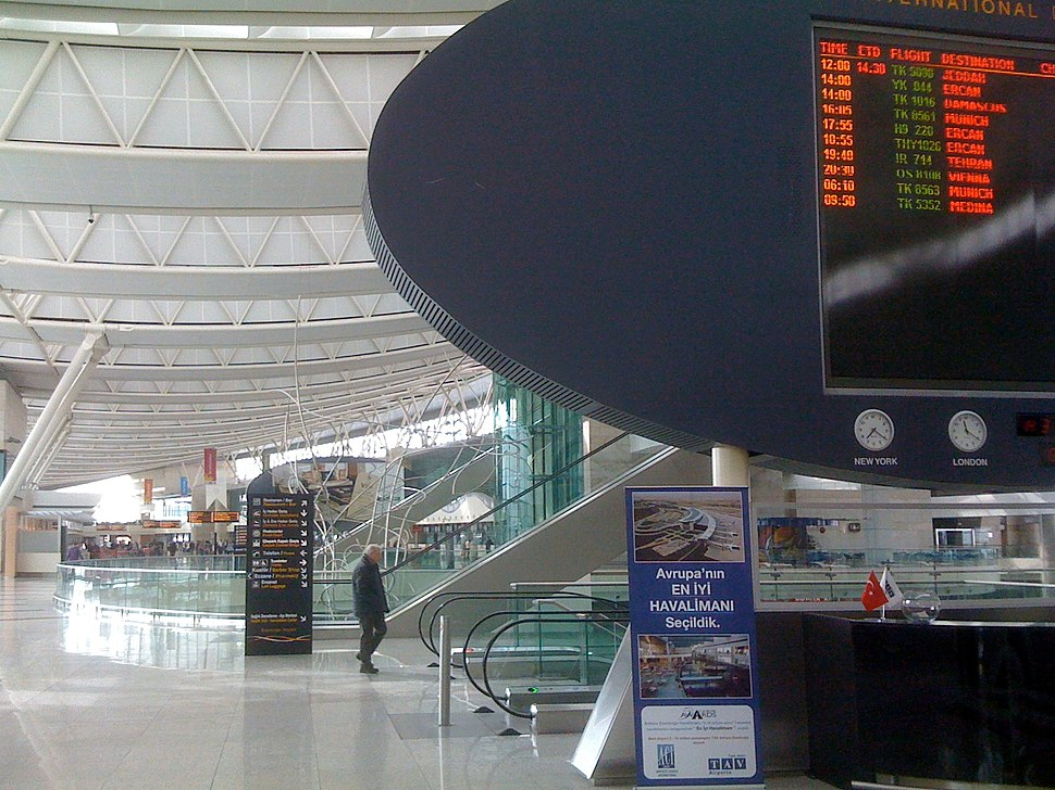 Ankara Airport departures dougbelshaw 1