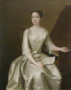 Ariodante - Anna Maria Strada, who created the role of Ginevra, by John Verelst (circa 1732)
