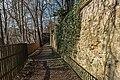 Annaberg, Stadtbefestigung, Stadtmauer, westlicher Abschnitt-20160407-019.jpg