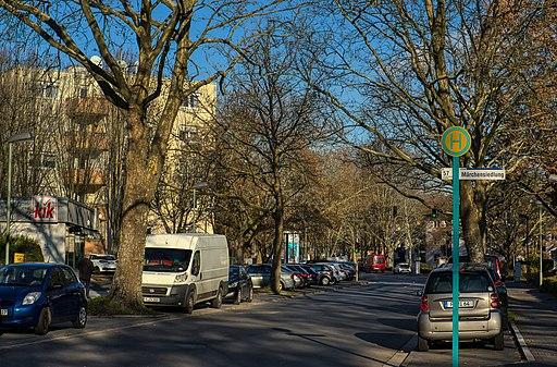 Annabergstraße, Haltestelle Märchensiedlung