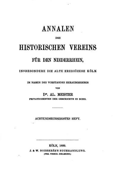 File:Annalen des Historischen Vereins für den Niederrhein 68 (1899).djvu