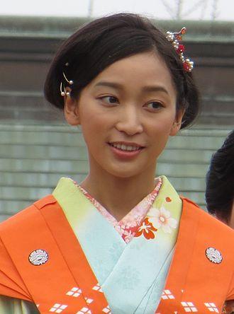 Anne Watanabe - Watanabe at Narita-san Temple in Osaka, February 2014