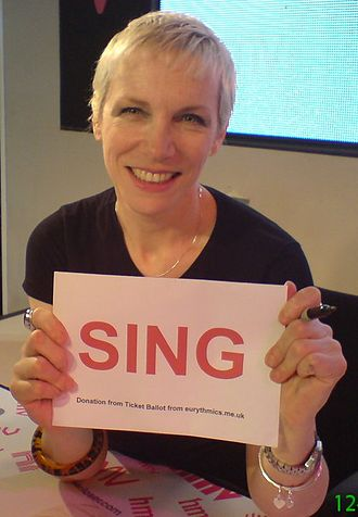 Brit Award for British Female Solo Artist - Annie Lennox holds the record with more wins with 6 and more nominations with 9
