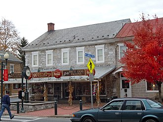 Annville Township, Lebanon County, Pennsylvania - Center of town