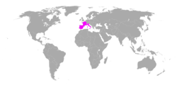 Anthocharis euphenoides distribution.png