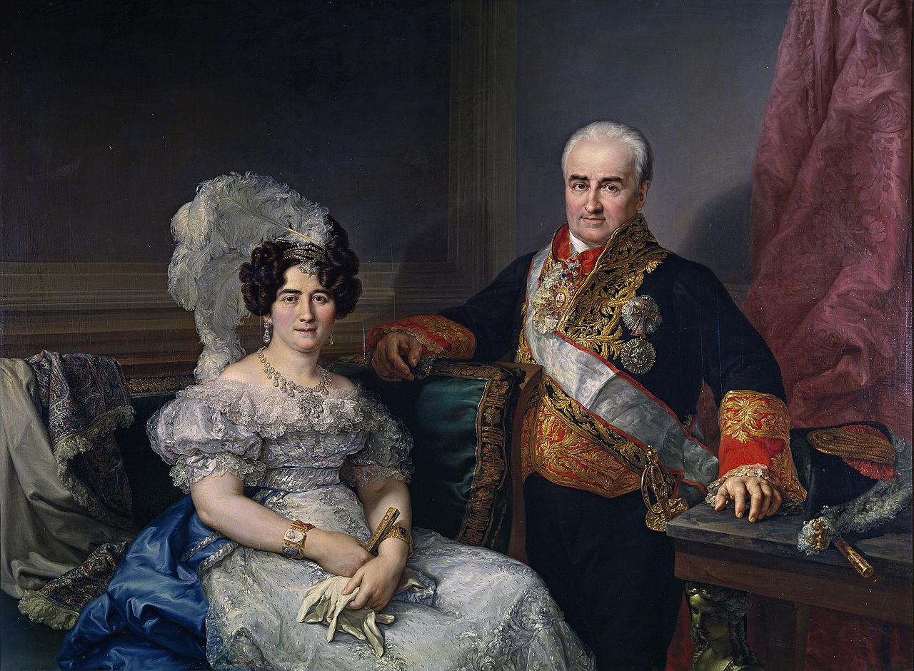 Antonio Ugarte y su esposa, Marнa Antonia Larrazбbal (Museo del Prado).jpg