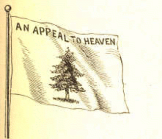 """Pine Tree Flag - The pine tree flag with the motto """"An Appeal to Heaven"""""""