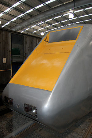 British Rail APT-E - APT-E at ''Locomotion'', Shildon, County Durham