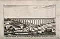 Aqueduct, Lisbon, Portugal; overlooking the Valley of Alcant Wellcome V0012839.jpg