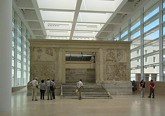 Museum of the Ara Pacis - The Ara Pacis inside the Museum