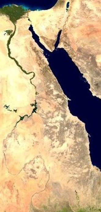 Eastern Desert - The Nile River and the Eastern Desert.