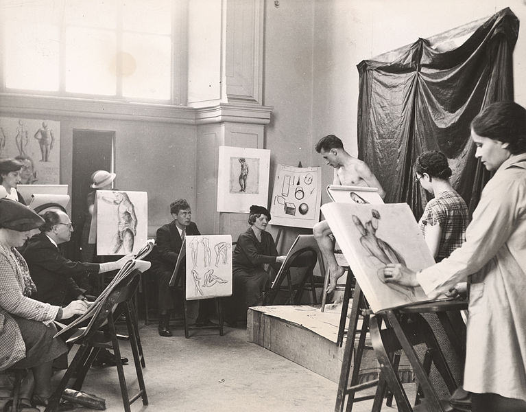 File:Archives of American Art - A life class for adults at the Brooklyn Museum, under the auspice of the New York City WPA Art Project - 11039.jpg
