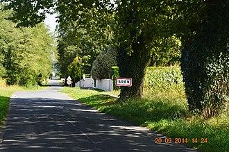 Aren - The road into Aren
