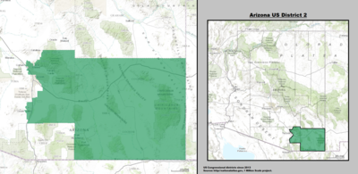 Arizona's 2nd congressional district since January 3, 2013.