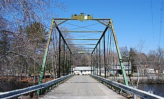 National Register of Historic Places listings in Kent County, Rhode Island - Image: Arkwright Bridge RI