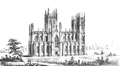 Armagh St. Patrick's Cathedral as originally designed by Thomas J. Duff c. 1840.png