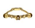 Armband av guld med ädelstenar och pärlor - Hallwylska museet - 110156.tif