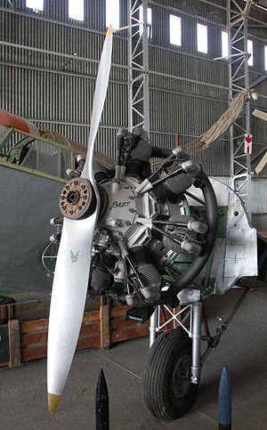 Armstrong Siddeley Cheetah - Cheetah engine fitted to an Airspeed Oxford undergoing restoration