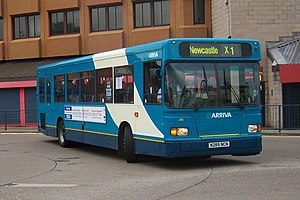 Arriva North East - East Lancs bodied Scania L113 in Middlesbrough in May 2009