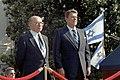 Arrival Ceremony for State Visit of Prime Minister Menachem Begin of Israel on South Lawn.jpg