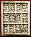 Arte bizantina, tavoletta con le dodici feste, xvi secolo.jpg
