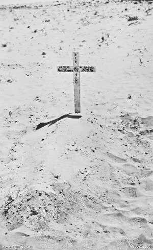 Stan Gurney - The desert grave of WX9858 Private (Pte) Arthur Stanley Gurney