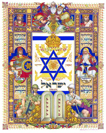 Arthur Szyk's Visual History of Israel
