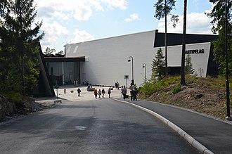 Artipelag - Entrance to Artipelag