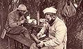 Artisanat de tranchée poilus au travail guerre de 1914-18.jpg