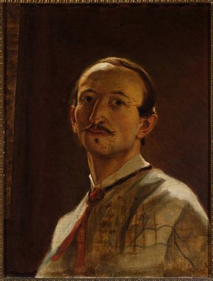 Artur Grottger - Self-portrait, 1867