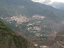 Artvin, Turkey. View from the construction site of the new dam.jpg