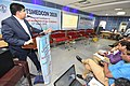 Arya Roy Delivering Lecture - Hand and Wrist Injury in Sports - SPORTSMEDCON 2019 - SSKM Hospital - Kolkata 2019-03-17 3573.JPG