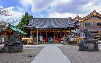 Asakusa Shrine - Image: Asakusa shrine 2012