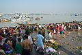 Assembled Devotees - Chhath Puja Ceremony - Baja Kadamtala Ghat - Kolkata 2013-11-09 4245.JPG