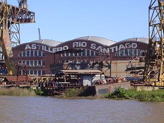 Río Santiago Shipyard - Image: Astillero Rio Santiago