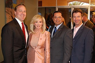 Morgan Fairchild - Fairchild at the Desert AIDS Project in 2009