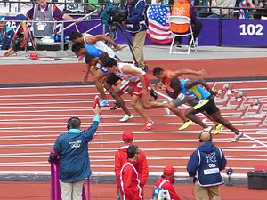 Athletics at the 2012 Summer Olympics – Men's 100 metres - Heat 2