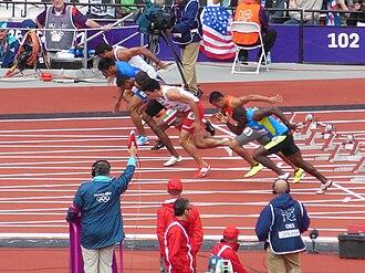 Athletics at the 2012 Summer Olympics – Men's 100 metres - Heat 2