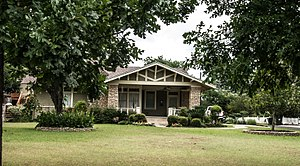 National Register of Historic Places listings in Williamson County, Texas - Image: Atkinson House (1 of 1)