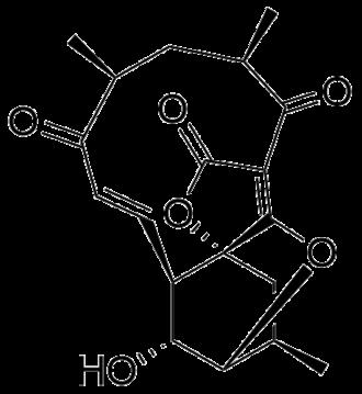 Atrop-abyssomicin C - Image: Atrop aby c