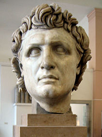 A Hellenistic portrait bust of Attalos I king of Pergamon