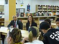 Attorney General Kamala Harris visits Peterson Middle School to discuss online safety and cyberbullying 05.jpg
