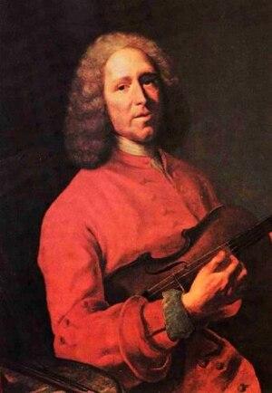 Pièces de clavecin en concerts - Jean-Philippe Rameau, by Jacques André Joseph Aved, 1728